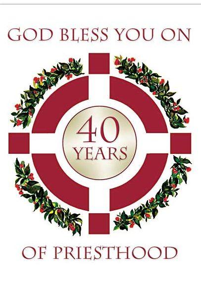 Anniversary Celebration Honoring Msgr. Gibbons