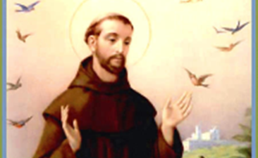 Feast of St. Francis of Assisi Monday, Oct. 4